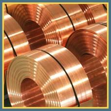Лента бронзовая 0.04 мм БрБ2 ГОСТ 1789-70, ГОСТ 467-77