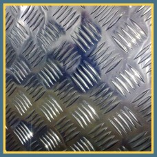 Лист нержавеющий рифленый 3х1250х2500 мм AISI 304 ГОСТ 5632-83