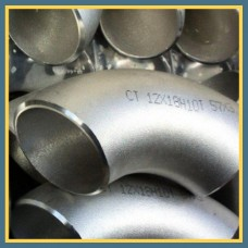 Отвод нержавеющий 90° 139,7х3 мм AISI 304