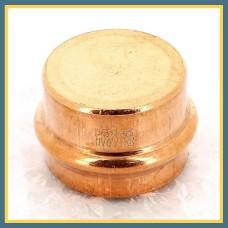 Заглушка пресс латунная 20 мм Uponor S-Press PLUS