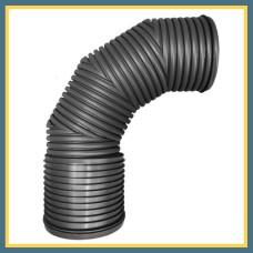 Отвод гофрированный 200 90° OPTIMA (литой)