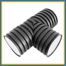 Тройник для гофрированных труб 200 90° OPTIMA (литой)